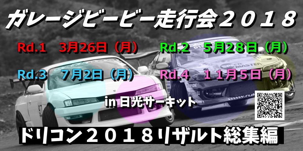 ガレージビービー杯20182リザルト総集編