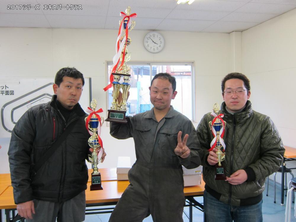ガレージビービー杯2017最終戦Rd.5リザルト